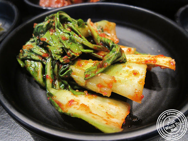 image of Bokchoy at Miss Korea BBQ in Koreatown NYC, New York