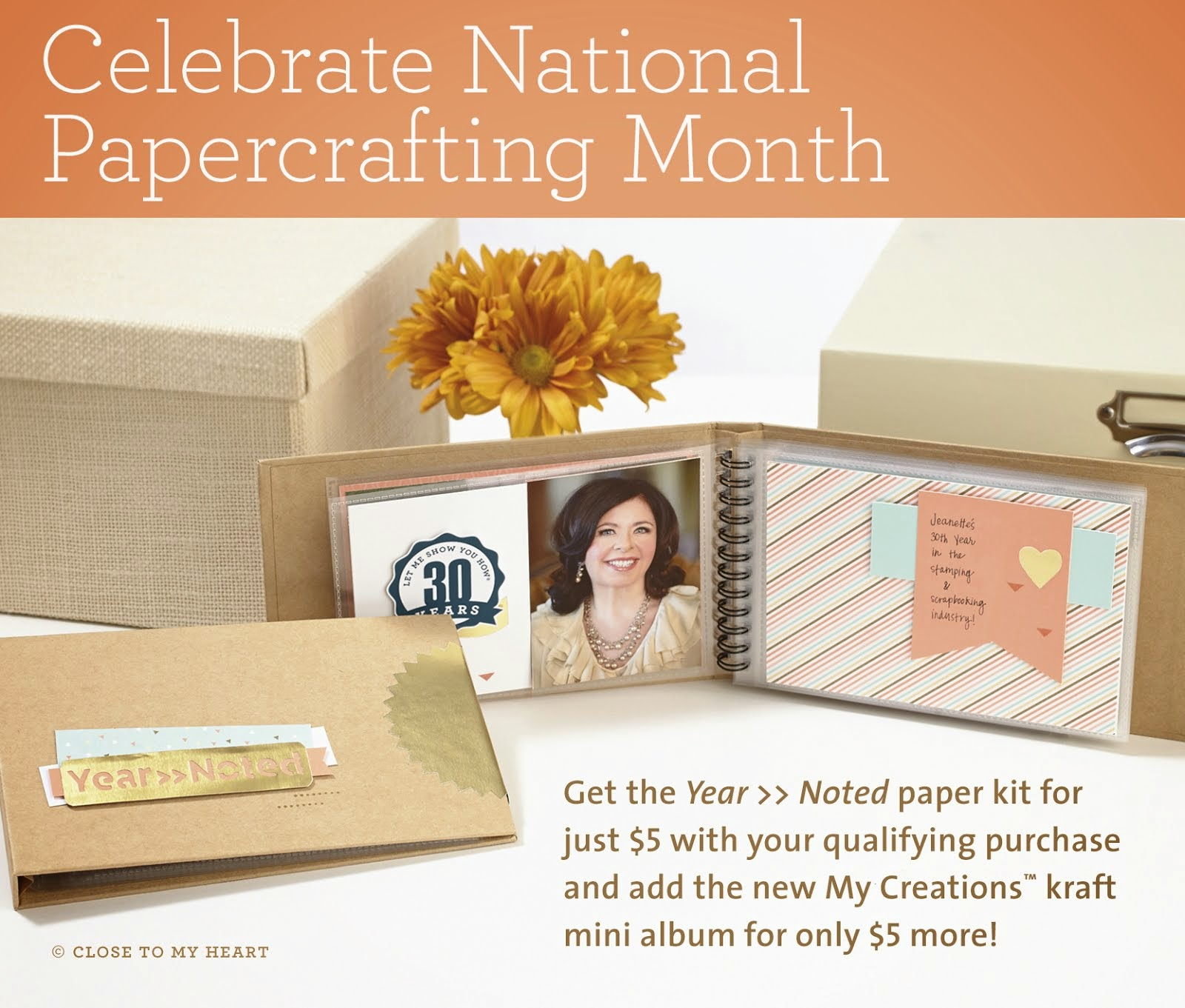 National Paper Crafting Month