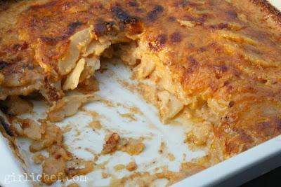 Adobo Potatoes Gratin {#thenewsouthwest #cookbookspotlight: review + giveaway} | www.girlichef.com