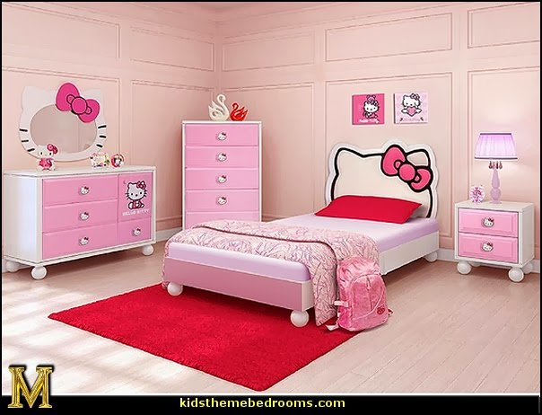 Decorating theme bedrooms - Maries Manor: Hello Kitty bedroom ...