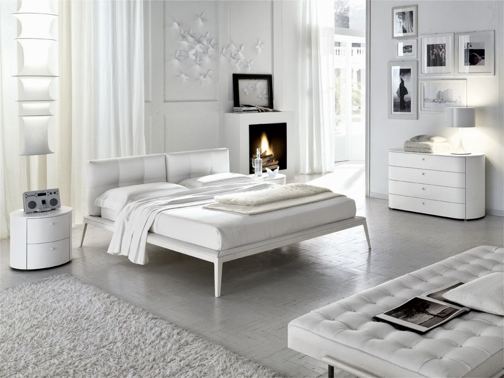 dormitorios color blanco dormitorios colores y estilos. Black Bedroom Furniture Sets. Home Design Ideas