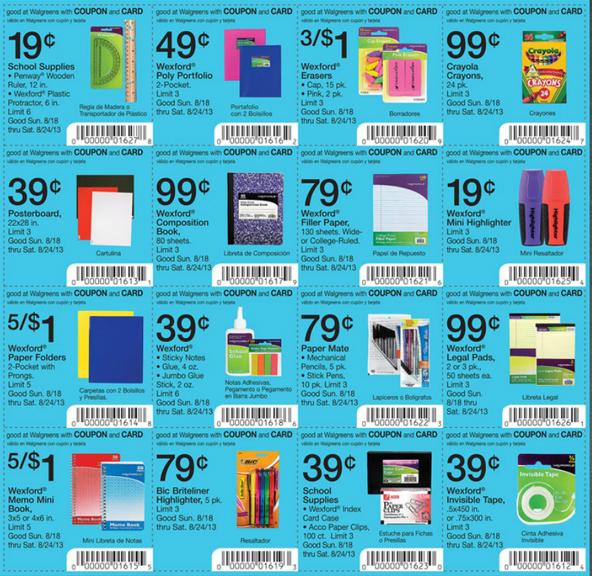 Walmart School Supplies Coupons Printable 2018 Cyber Monday Deals