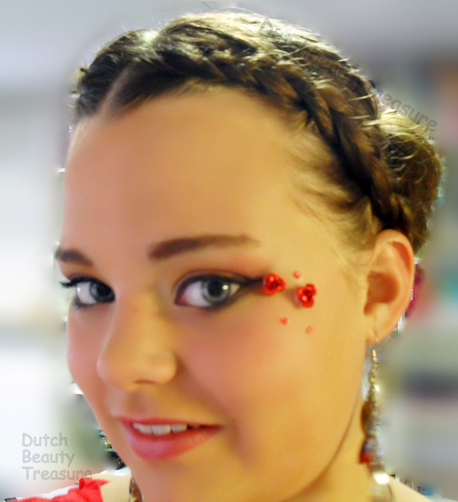Romantische haarstyle