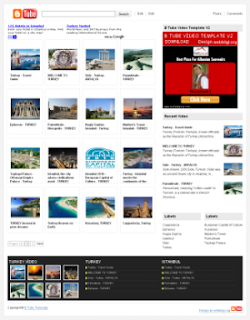 btube+blogger+video+template B TUBE BLOGGER TEMPLATE   Blogger video template