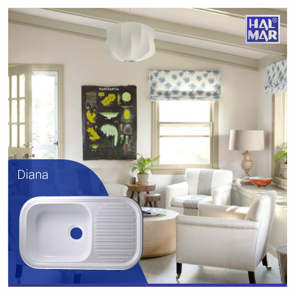 Kitchen sink manis diana by hal mar sanitary
