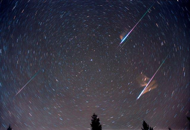 This summer the perseid shower is going to be hard to see because the