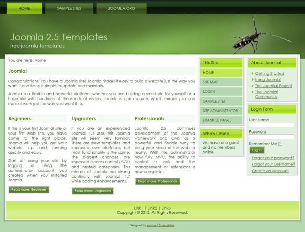 theme joomla 2 5 templates joomla 1 7 templates free download joomla cms themes for joomla