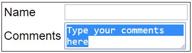 javascript select method