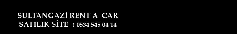 Sultangazi Rent a Car Araç & Oto Kiralama