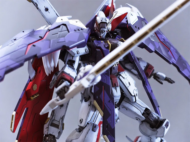 crossbone gundam model kits series