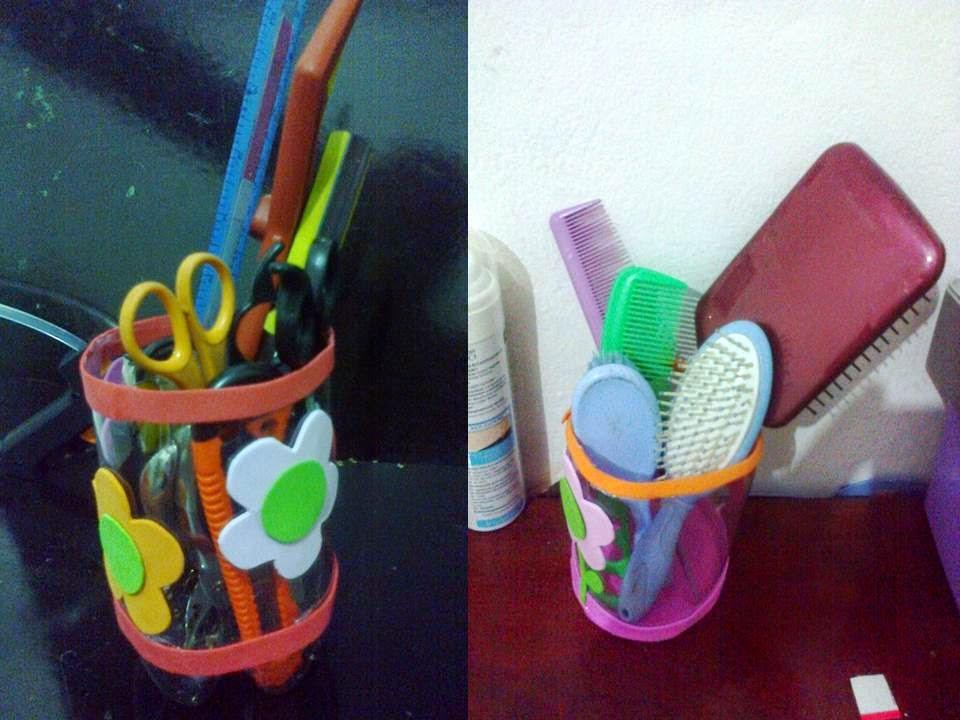 Well-known Arte com Jane: reciclando garrafa pet! Menos uma para o lixo!!! NK22
