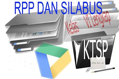 Download RPP KTSP 2006 SD Kelas 6 Semester I dan II