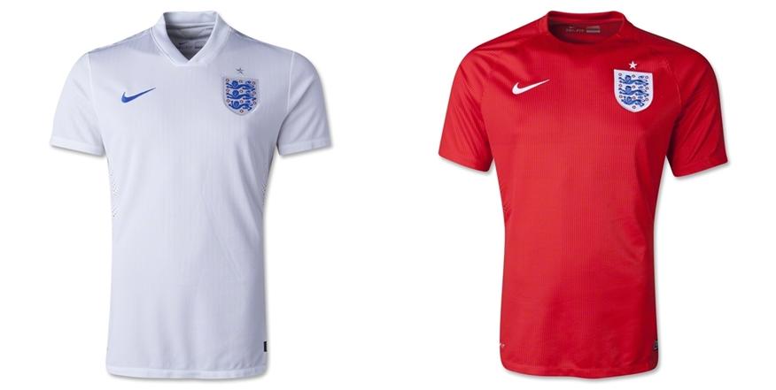 Inggris - Jersey Grade Ori Piala Dunia 2014