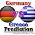 Quarter Finals: Germany vs Greece Euro 2012 Prediction