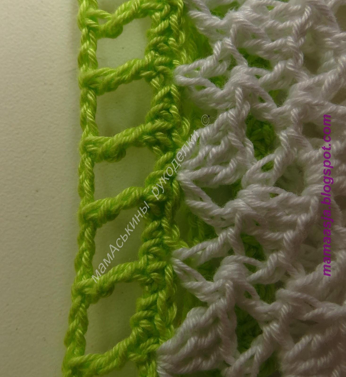 Вязание сарафан с кармашками мишка