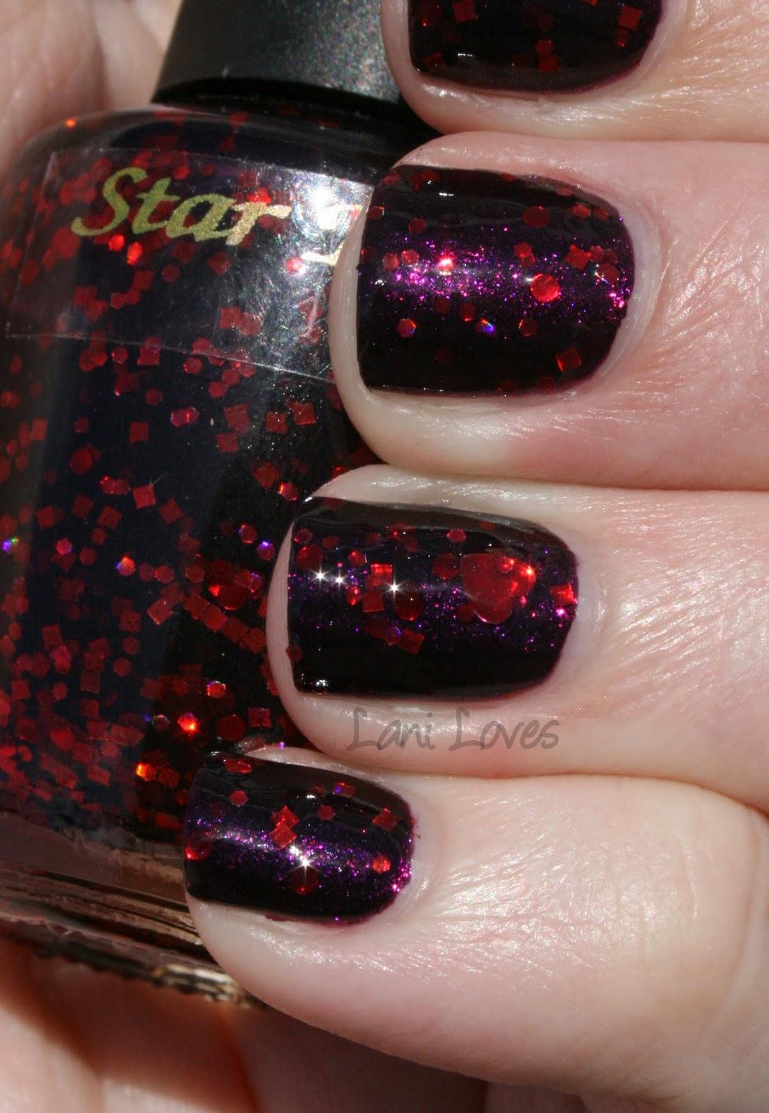 Star Kin I <3 Hades Swatch