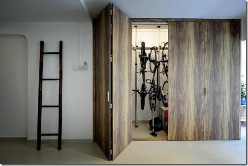 Bike storage como guardar sua bike com estilo design tips - Armarios para bicicletas ...