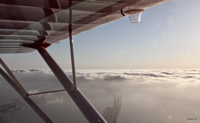Brume sur la Baie de San Francisco