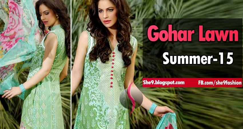 Gohar Lawn Designs 2015