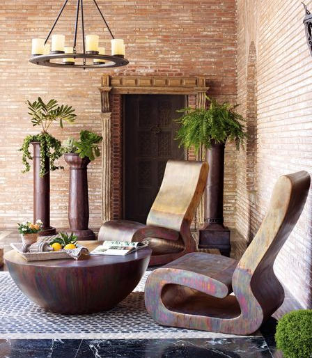 Modern outdoor furniture for Cool outdoor furniture ideas