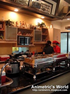 Test kitchen at Century Culinary Circle