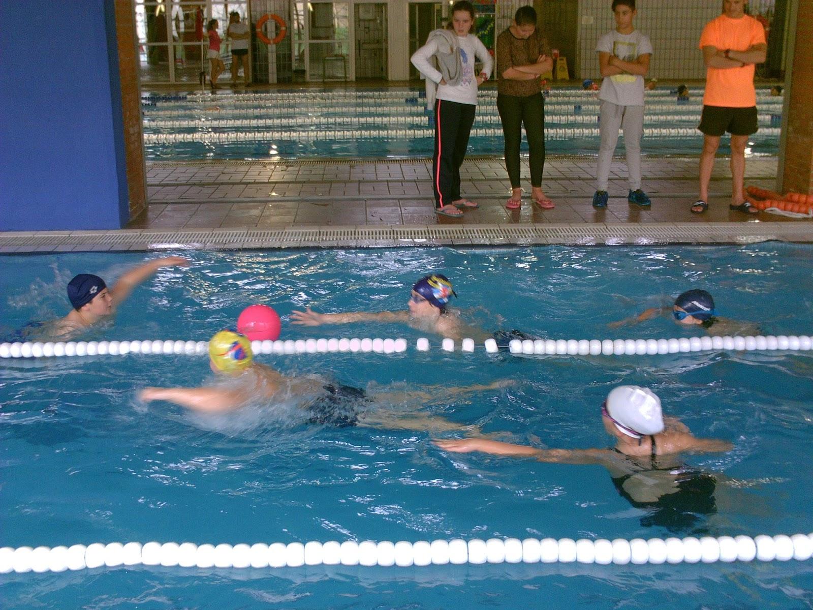 Educaci n f sica en la red 6 a curso 2015 2016 for Clases de natacion df