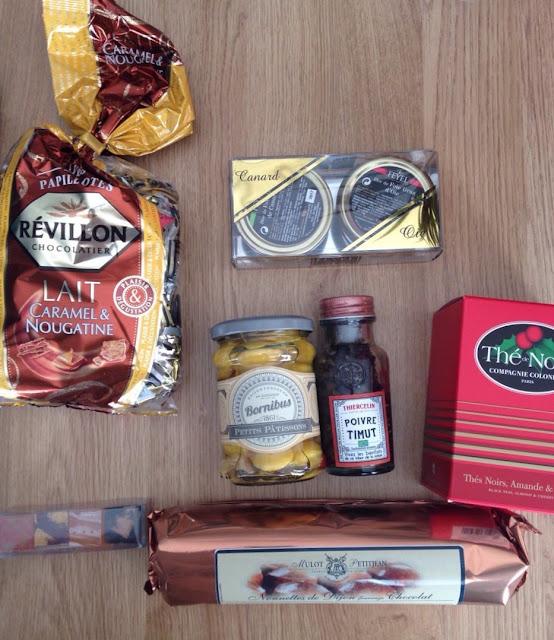 Box Gourmande Fêtes - Boutique Marie Claire
