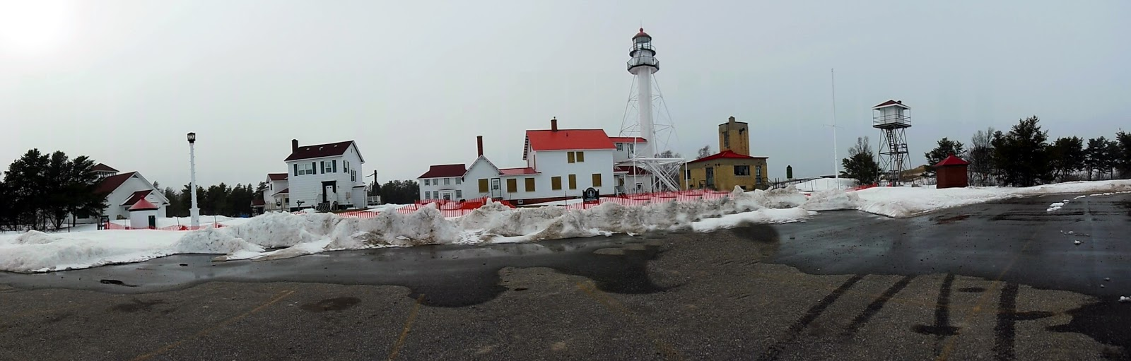 Focusing on travel whitefish point light lodging for White fish point