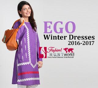 Ego Winter Dresses 2016-2017 For Girls