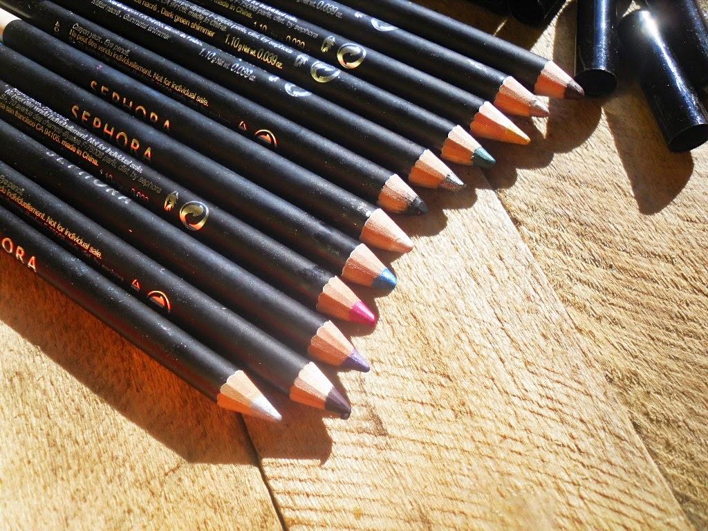Sephora Chroma Color Eye Palette - 12 kredek do oczu
