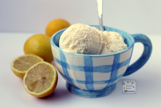My whole family agrees - this is the best Ice Cream I have ever made. Sweet-tangy and deliciously creamy is this Lemon Cheesecake Ice Cream. No need for an ice cream maker!