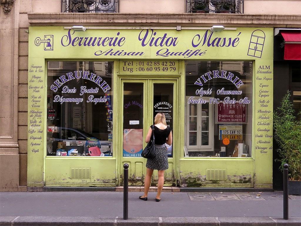 Serrurerie Victor Massé, Locksmith Victor Massé, rue Victor Massé, 9e arrondissement, Paris