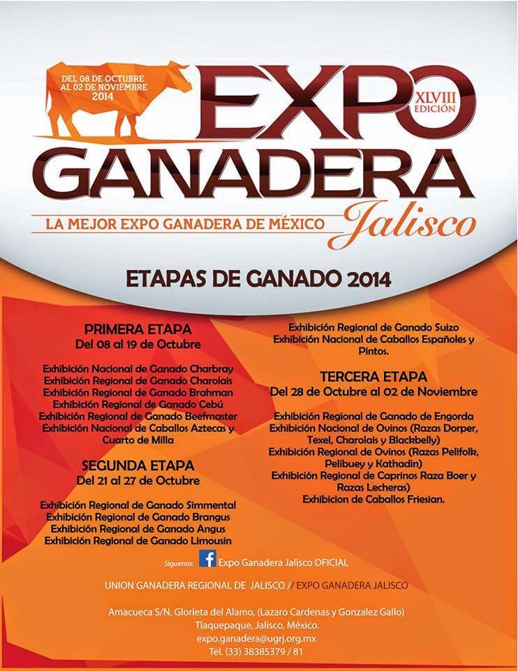 Artistas Expo Ganadera Jalisco 2014