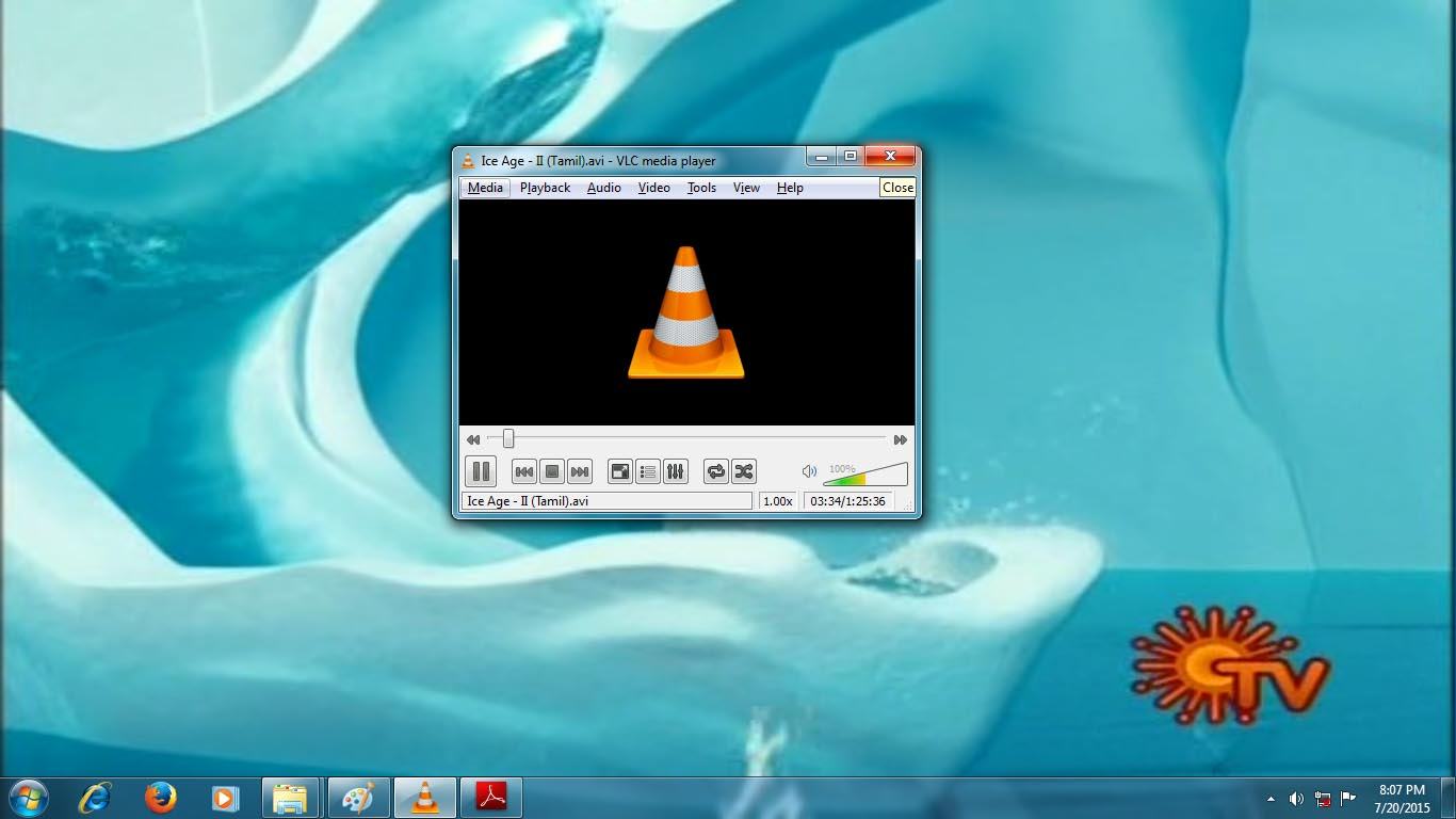 vlc media player how to send video to email