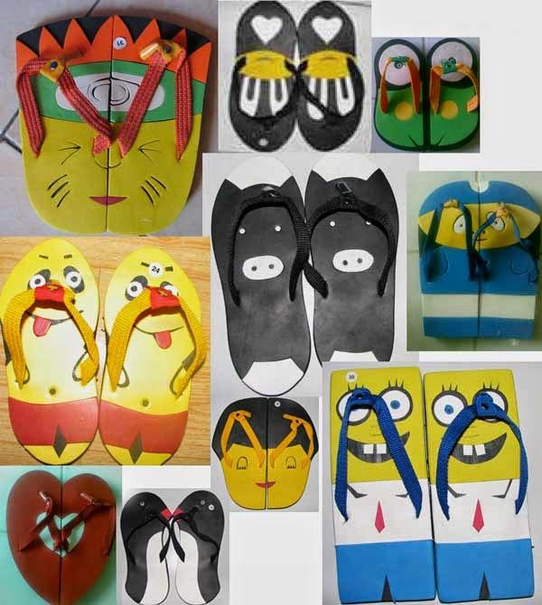 Peluang Usaha Bisnis Pembuatan Sandal Unik Peluang Usaha Bisnis Pembuatan Sandal Unik