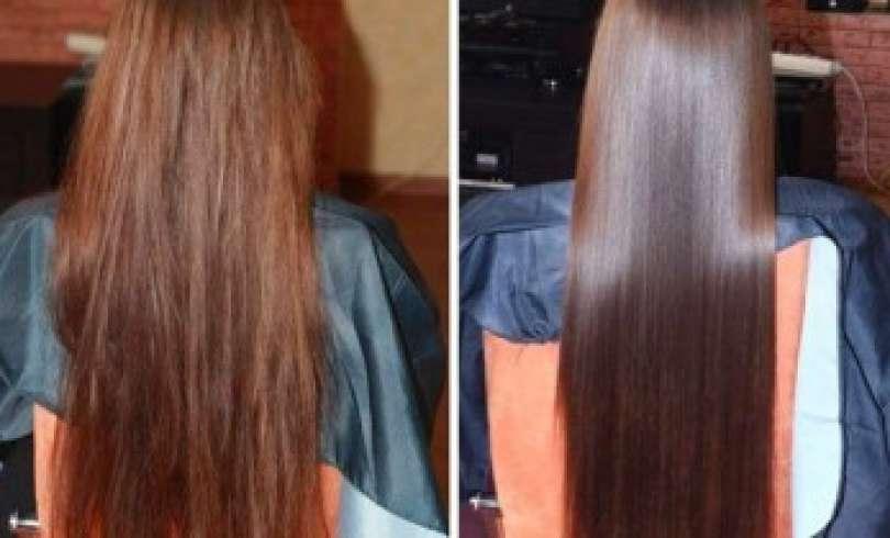 Rociar vinagre en el cabello