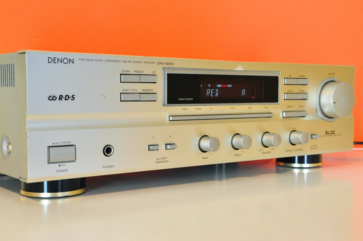 Denon dra 565rd stereo receiver audiobaza for What to dra