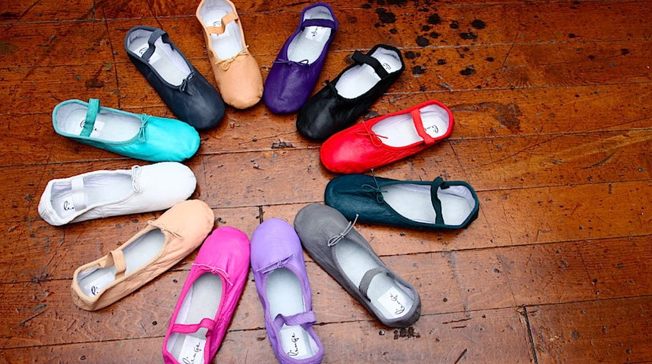Colorful Ballet Flats