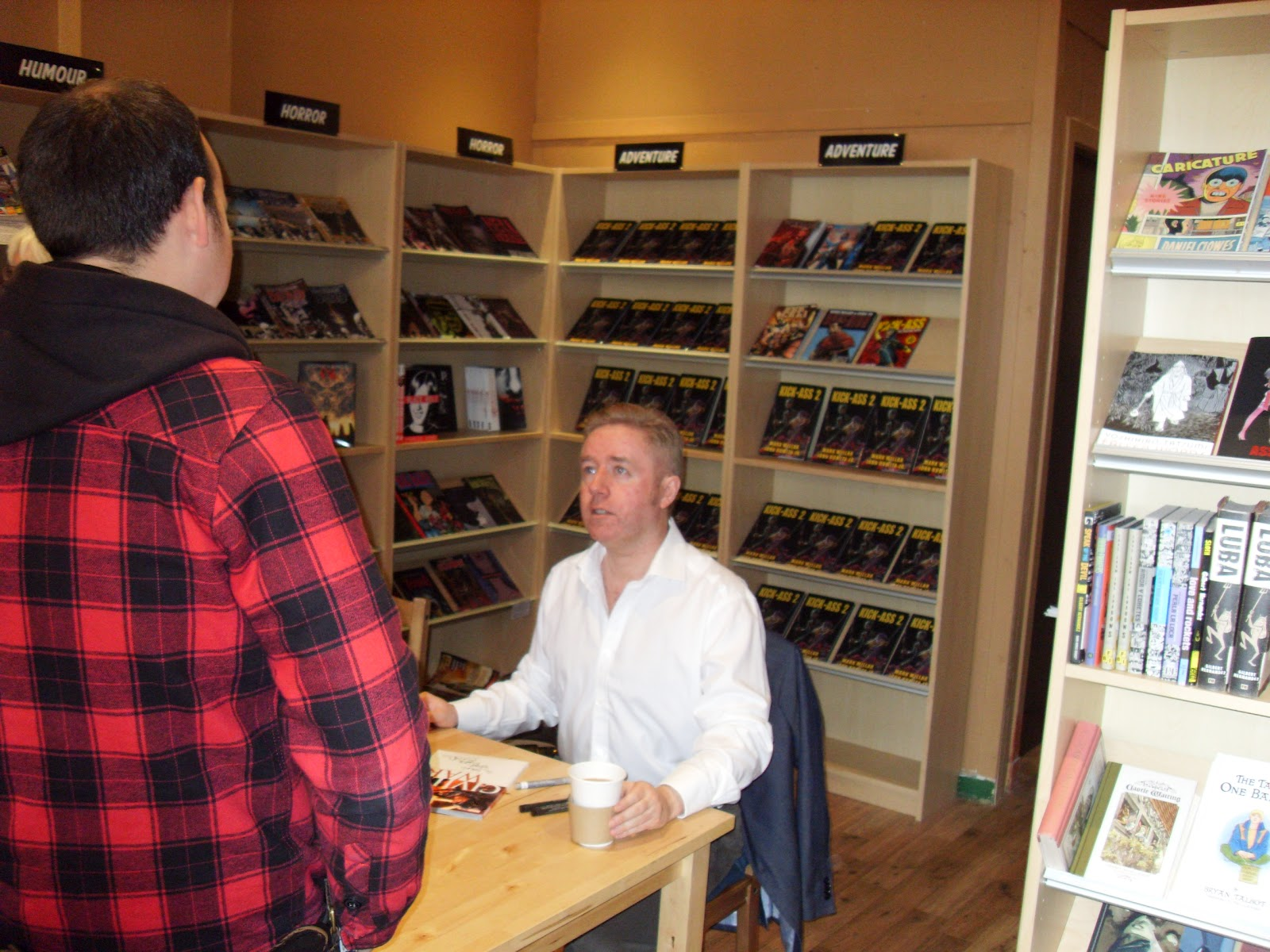 Mark Millar at Plan B Books
