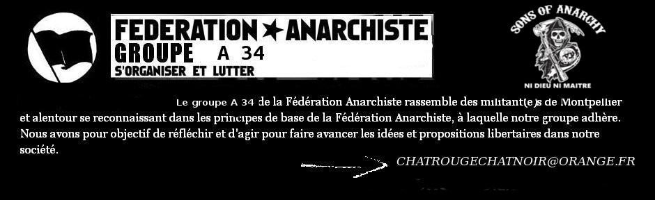 Groupe A 34 de la fédération anarchiste