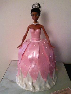 Black Barbie Birthday Cakes