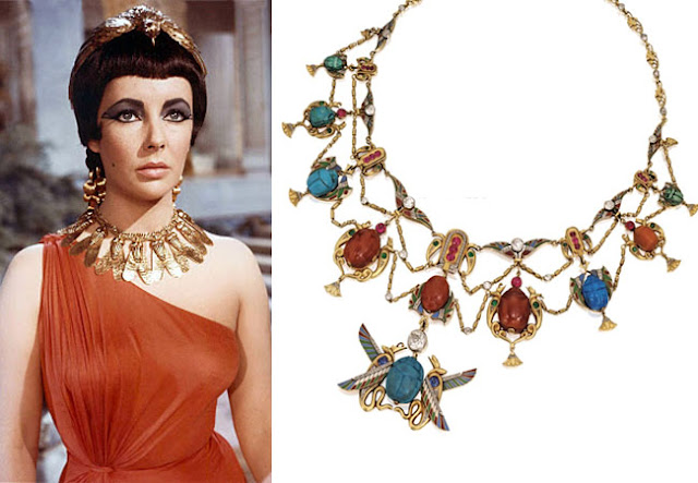 diy, trends, fashion trends, egypt,egyptian necklace,cleopatra, liz taylor, tribal jewellery,tribal,