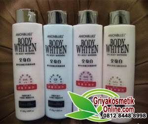 Anion Blue Body Whiten