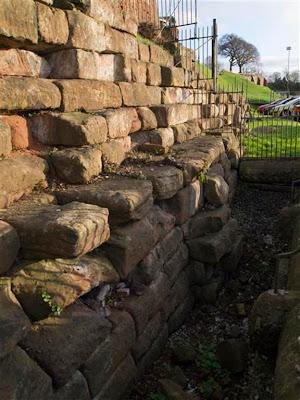 Ruinas del puerto romano de Chester