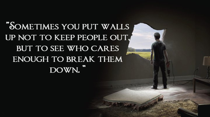 Quotes about breaking down