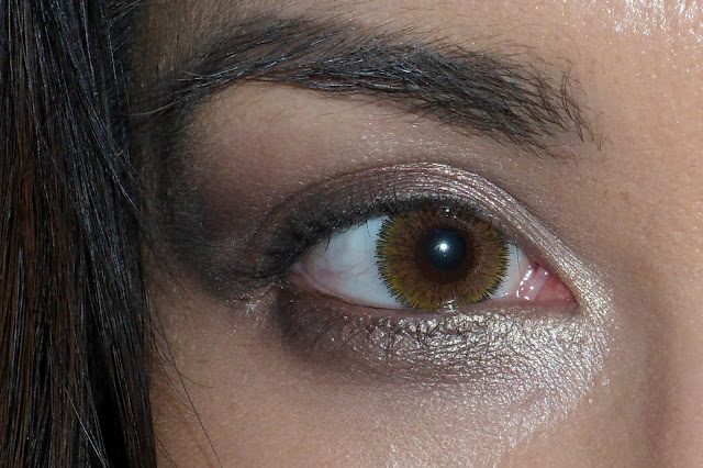 "Eyeline your eyes with ""DarkHorse"" eyeshadow"