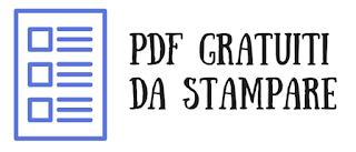 PDF gratuiti da stampare