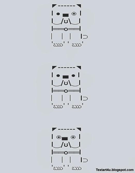 One Line Ascii Art Copy Paste : Simple text art bing images