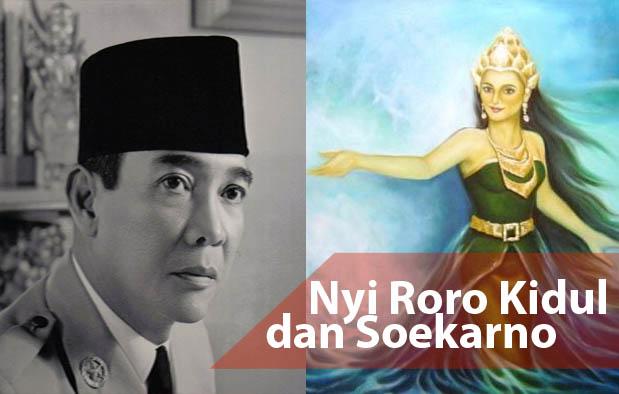 sering kali dianggap sebagai sosok yang penuh misteri Nyi Roro Kidul dan Soekarno vs Kartosuwiryo dan Dewi Lanjar