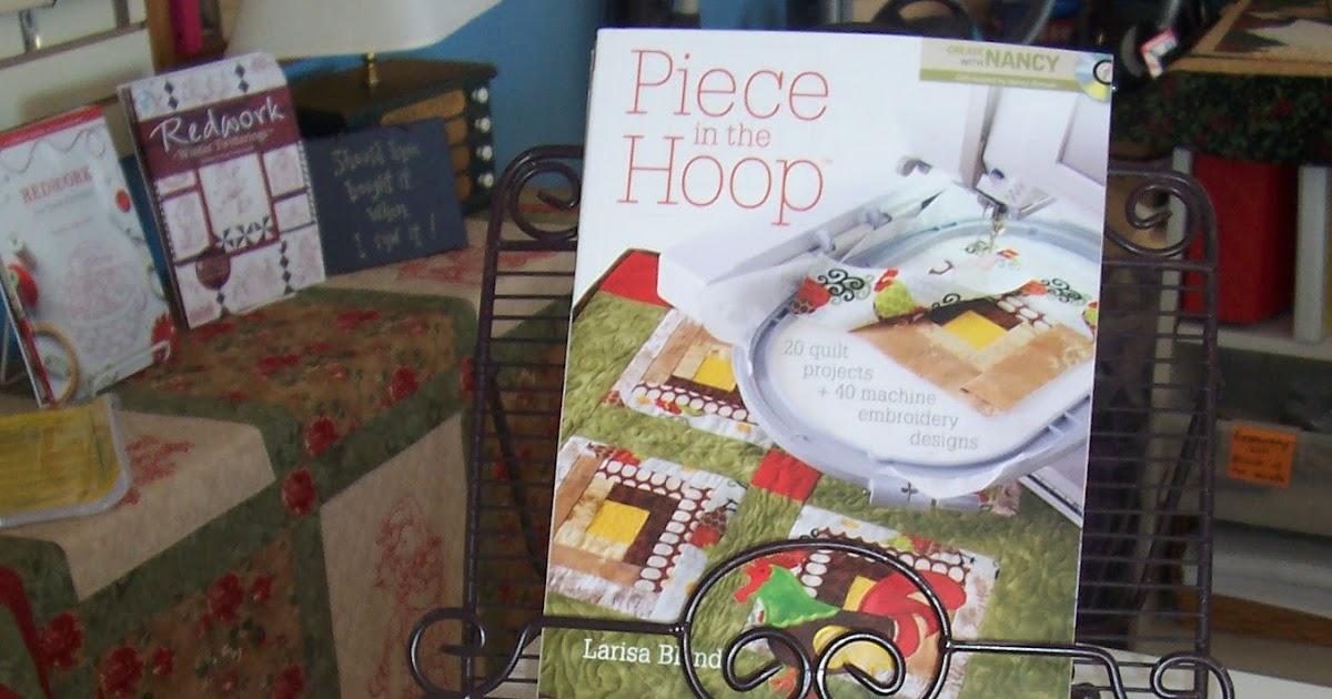 The pinecone press machine embroidery retreat piece in